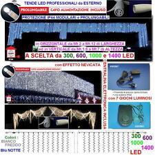 TENDA PROFESSIONALE Cm.200L x 500H 1000 LED BIANCHI PROLUNGABILE+CENTRALINA IP44
