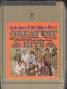 """Herb Alpert & The Tijuana Brass Greatest Hits"" 8-Track Stereo Tape"