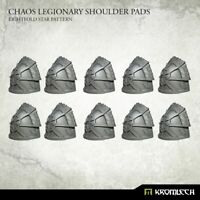 Kromlech BNIB Chaos Legionary Shoulder Pads: Eightfold Star (10) KRCB232