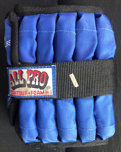 1 ALL PRO Adjustable Ankle Weight 1/2 To 10 Lb POUNDs Single Style Weight 10 Lb