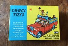 Corgi No.487 Chipperfields Circus Landrover Parade Vehicle