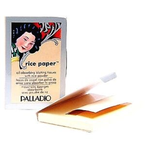 """Face Facial Blotting Tissues by Rice Paper  (2 packs or 6 packs) """"RPA"""" FREE SHIP"""