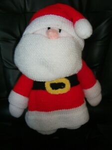 14 Inch Knitted Father Christmas