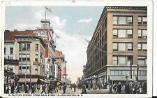POSTMARKED 1917 N. CLINTON ST FROM MAIN ST.E POSTCARD ROCHESTER NY