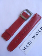 SWATCH + NASTRO + IRONY BIG + AYGS 428 Twirl +17 mm + PELLE/LEATHER + NUOVO/NEW