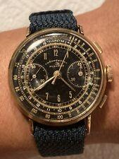 Vintage Election Valjoux 22 Chronograph Cronografo Watch Uhr Montre