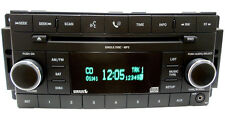 08 09 2010 11 12 CHRYSLER JEEP DODGE Ram RES Radio Sirius Satellite CD Player