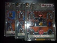 Dungeon & Dragons Mage Knight: Dungeons Builders Kit, HeroClix D&D Tiles Map