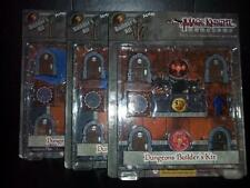 Dungeon & Dragons Mage Knight: Dungeons Builders Kit D&D Tiles Complete Set of 3
