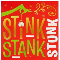 DR SEUSS CHRISTMAS GRINCH BEVERAGE NAPKINS PARTY DECORATIONS STINK STANK STUNK
