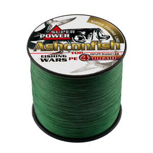 Super Strong 100M-1000M PE Braided Fishing Line 6LB-100LB Multifilament PE Lines