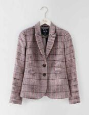 Boden Camel Tweed 100 Wool Jacket Size 10r WE551