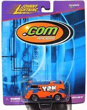 JOHNNY LIGHTNING .COM RACER Y2K VOLKSWAGON BUS Rubber Tires
