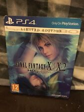 Final Fantasy X/X-2 HD Remaster Limited Edition PS4 (5) Steelbook