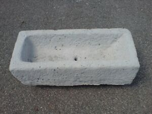Blumentrog-Pflanzkasten-Beton-Rechteckig-Grau-Sandstein-Heinz