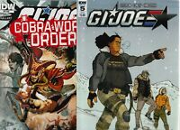 GI JOE 10 COMIC LOT ALL FPLUS TO NM  DDP/ IDW