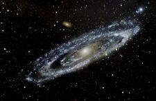 Black Light Reactive NASA Andromeda Galaxy Space Hi Gloss Poster 16x24 inches