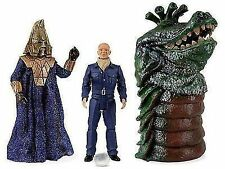 Dr Who Enemies of The 3rd Third Doctor Action Figures Collectors Set