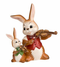 Goebel Geigenduett Musikkapelle Ostern Hase Neuheit 2017 12 cm Hasen