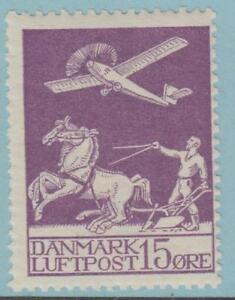DENMARK C2 MINT HINGED OG * NO FAULTS EXTRA FINE !
