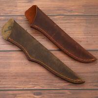 Rindsleder-Scheide für gerades Messer Rindsleder-Ledertasche für FruchtmesserXUI