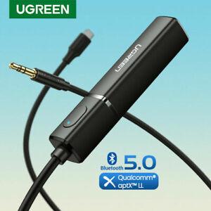 UGREEN Bluetooth 5.0 Sender Klinke Audio Adapter Kopfhörer für Fernseher PS4 MP3