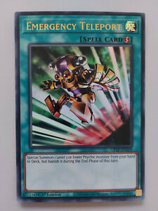 YUGIOH TCG Ghost of the Past - Emergency Teleport GFTP-EN109