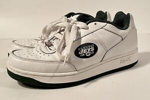 New York Jets Reebok Sneakers Size 10 White - Super Clean