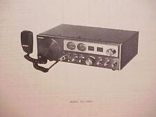 1979 PANASONIC CB RADIO SERVICE SHOP MANUAL MODEL RJ-3660