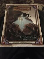Signed D&D Ghostwalk Campaign WOTC 1st print 2003 Dungeons & Dragons 3.0 Signed