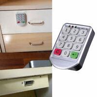 Security Digital Drawer Electronic Password Keypad Cabinet Door Code Locks Home