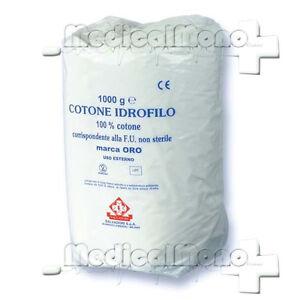COTONE IDROFILO ARROTOLATO per USO SANITARIO - 1 Kg