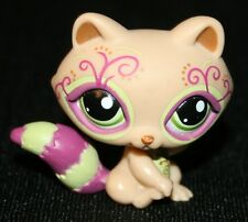 Littlest Pet Shop Series 4 Postcard Pets Raccoon LPS Green Eyes Toy Animal