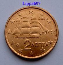 Griekenland / Greece 2 cent 2002 UNC
