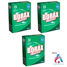 Dri Pak Borax Clean and Natural Substitute Multi-Purpose Cleaner 500g 3 Pack