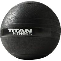 Titan Fitness 10 - 60 lb Slam Spike Ball Rubber Exercise Weight Workout