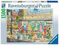 RAVENSBURGER PUZZLE*1500 TEILE*SIDEWALK FASHION*RARITÄT*NEU+OVP