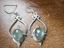 Nicely Accented Labradorite 925 Sterling Silver Dangle Earrings Corona Sun h109r