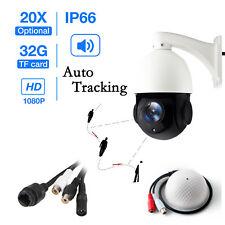 Sony 2.0Megapixel 20X Optical Zoom Auto Tracking HD IR 1080p 2.0MP PTZ IP Camera