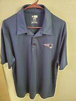 "NFL TEAM APPAREL Men's New England Patriots S/S Polo Shirt XL(46""Chest/30""L)"