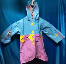 New Kidorable Mermaid Rain Coat Size T3  Mint Condition with Tag
