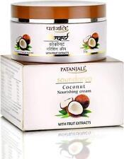 2 X Patanjali Saundarya Coconut Nourishing Cream 50 gm Nourishment to Your Skin