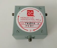 CIRCOLATORE, MICROWAVE ASSOCIATES (M/A-com), ma, 7k296. 85-1.10 GHz