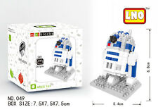 R2-D2 Star Wars  Mini BLOCK Micro Mini Building Iblock Kids Toy Gift