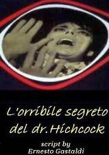 NEW L'orribile segreto del dr. Hichcock (Italian Edition) by Ernesto Gastaldi