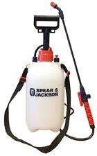 Spear And Jackson Pump Sprayer Garden Action Pressure Plant Spray Bottle 5 L