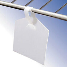 Wire Fixture Label Holder 2.375 W x 1.375 H - Pack of 50