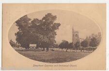 Streatham Common & Immanuel Church, London Fielder & Henderson Postcard, B496
