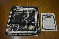 1977 Star Wars DESTROY THE DEATH STAR Board Game  Kenner Box, Board, Instruction