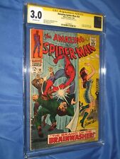 AMAZING SPIDERMAN 59 CGC 3.0 SS Signed John Romita Sr (1st Mary Jane Cover 1968)